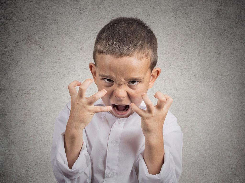 Детская агрессия фото